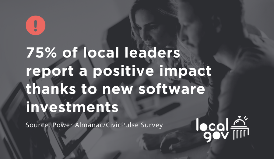 Smart Local Leaders Are Investing In New Software, Survey Says