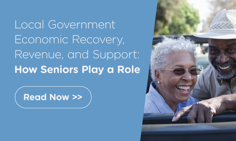 Local government economic recovery and revenue: how seniors play a role