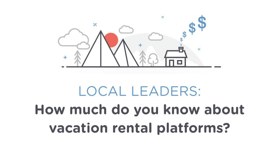 Local leaders: how much do you know about vacation rental platforms?
