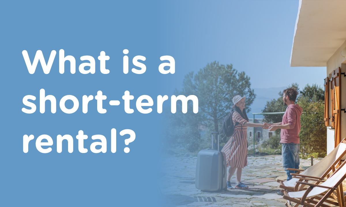 What is a short-term rental?