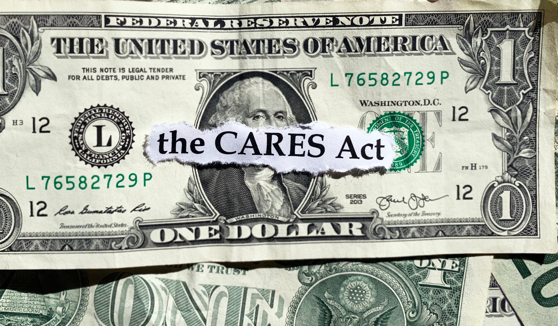 Time's Almost Up With CARES Act Deadlines Approaching