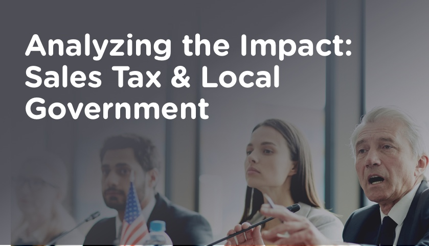 Analyzing the Impact: Sales Tax & Local Government